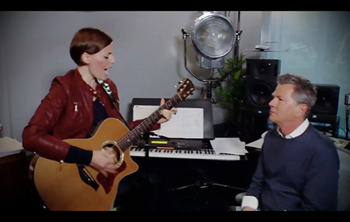 Tracy Thomas with David Foster