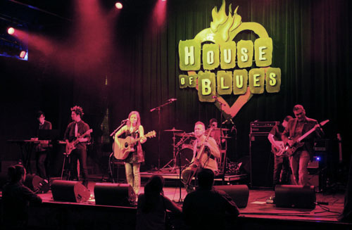 Tracy Thomas at House of Blues Sunset