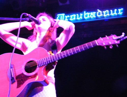 Tracy Thomas at Troubadour